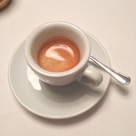 Ein Espresso als Abschluss gehört zu einem gelungenden Supperclub-Abend in Stuttgart dazu.