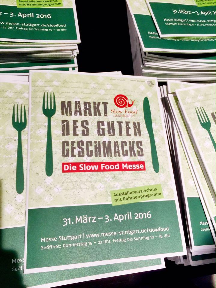 Besuch der Slowfood Messe Stuttgart 2016