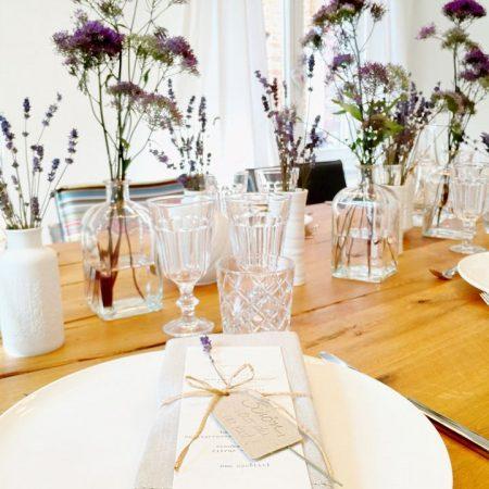 Tischdeko-Supperclub-Abend